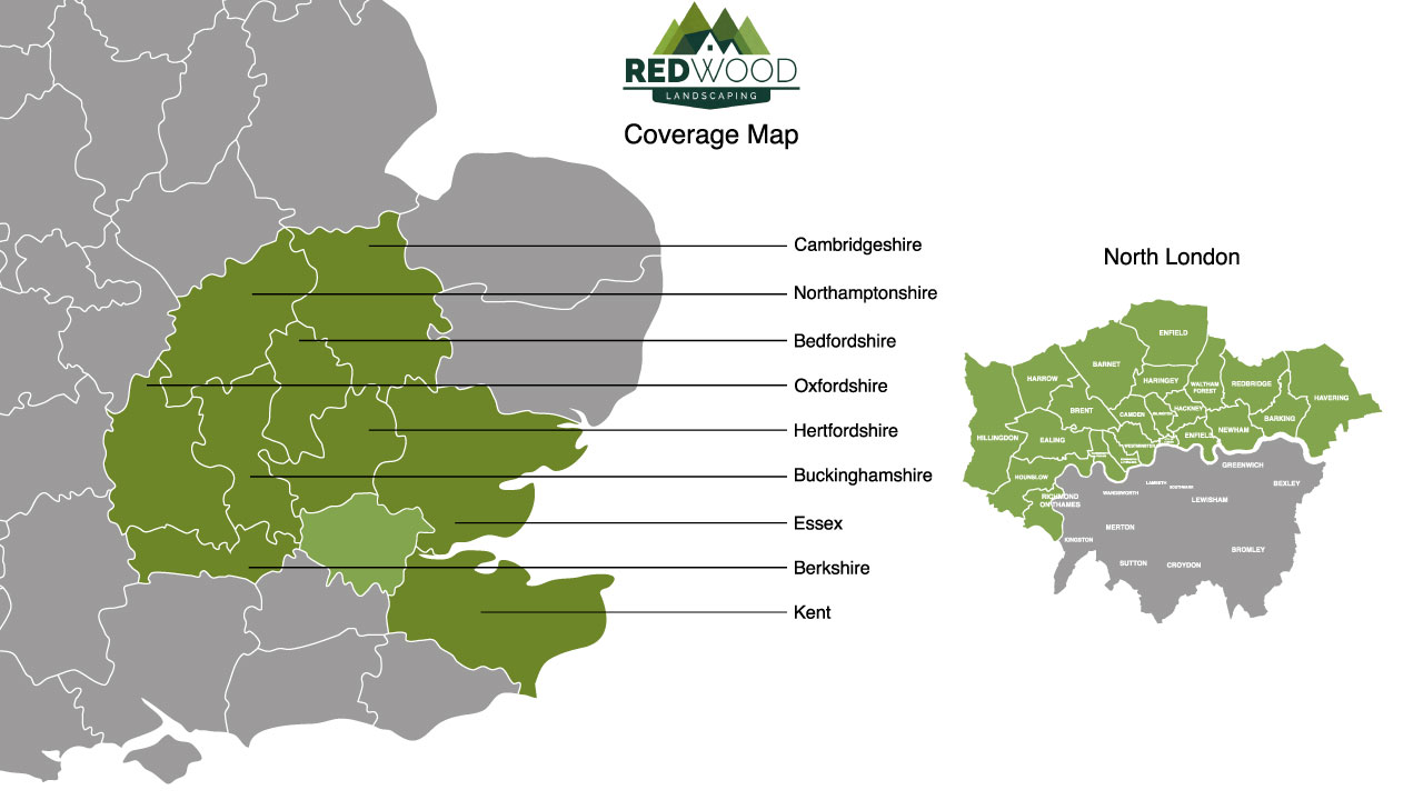 Equipment Hire Coverage Map