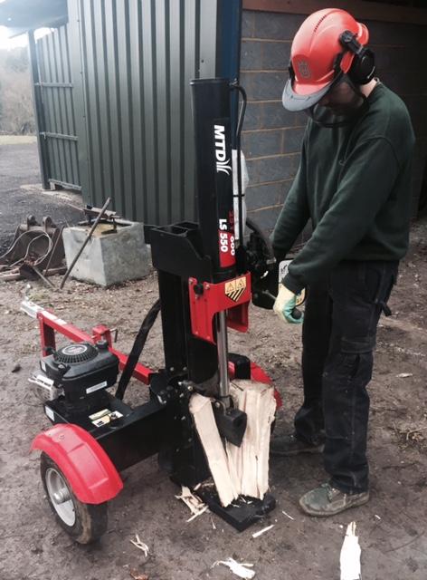 Log Splitter Hire